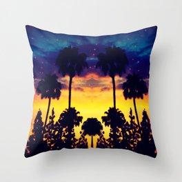evening in Cali Throw Pillow