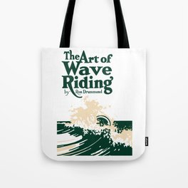 The Art of Wave Riding 1931, First Surfing Book Artwork, for Wall Art, Prints, Posters, Tshirts, Men, Women, Kids Tote Bag