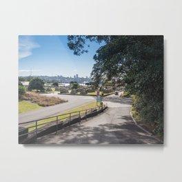 Campsite Driveway Metal Print