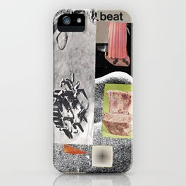 the beat goes on iPhone Case