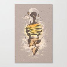 Lighting Up My World Canvas Print