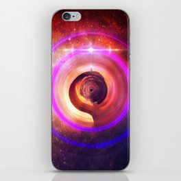 The Surreal Lighthouse at the End of the Universe iPhone Skin