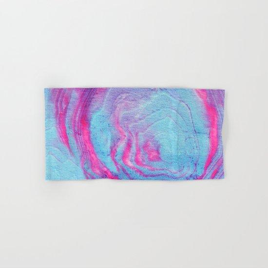 Vibrant marble Hand & Bath Towel