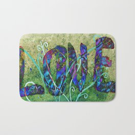 A Fractal of Love Bath Mat