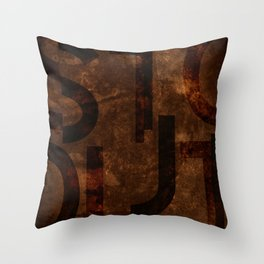 Stout Beer Typography Throw Pillow