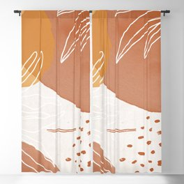 clay & sand Blackout Curtain