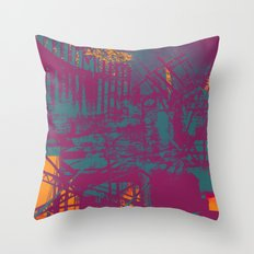 Sometimes It All Comes Together Throw Pillow