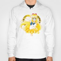 sailor venus Hoodies featuring Eternal Sailor Venus by Yue Graphic Design