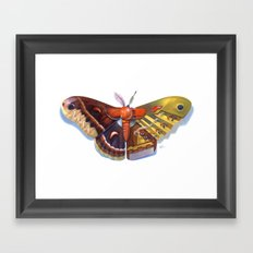 Cecropia Bot Framed Art Print