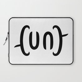 Ambigram Cunt Laptop Sleeve