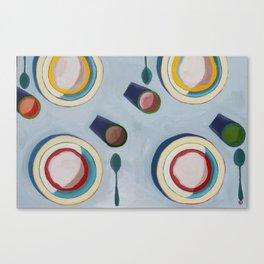 Oatmeal Canvas Print