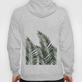 Palm Leaves Green Hoody