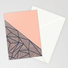 B Rays Geo 2 Stationery Cards