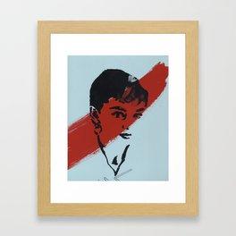 Audrey 5 Framed Art Print