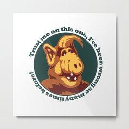 Alf guru  Metal Print