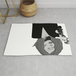 Forget it Jake it's Faye Dunaway Rug