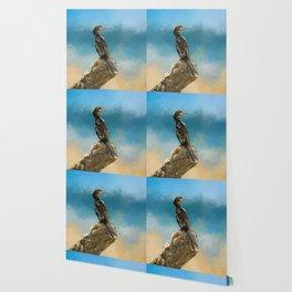 Anhinga Digital Painting Wallpaper