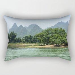 The Sheep & The Mountains Rectangular Pillow