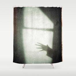 This Is The HHHHHAAAANNNNNDD - ©Gerald Robin Shower Curtain