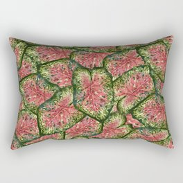 Chestnut Wasabi Foliage Rectangular Pillow