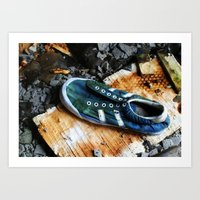 sneaker Art Prints featuring Sneaker by MSG Imaging