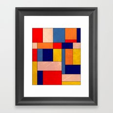 Abstract #340 Framed Art Print