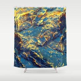 GOLDMINE Shower Curtain