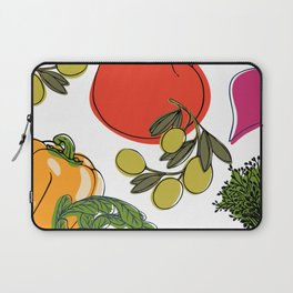 colorful vegetable medley Laptop Sleeve