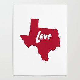 Texas Love Poster