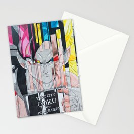 Goku's Mugshot Stationery Cards