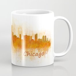 Chicago City Skyline Hq v3 Coffee Mug