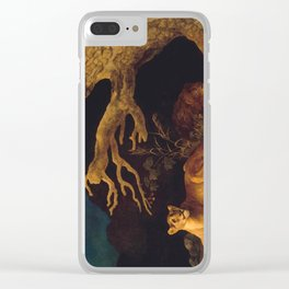 Lion and lioness - George Stubbs - 1771 Clear iPhone Case