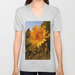 Flowers In The Sun Unisex V-Neck