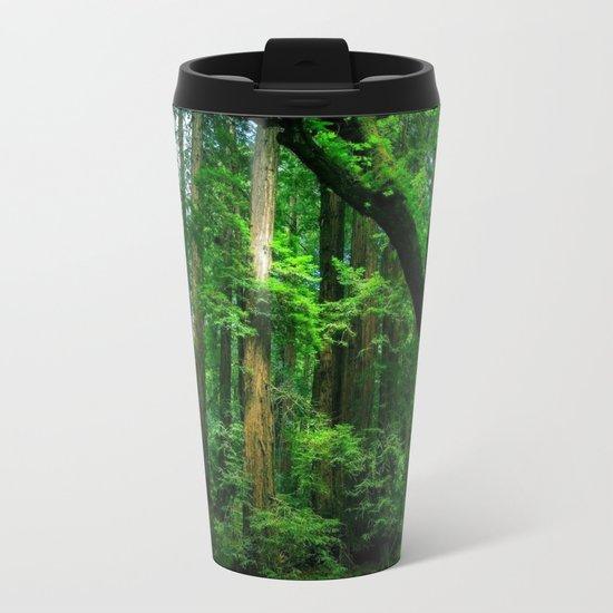 Enchanted forest mood II Metal Travel Mug