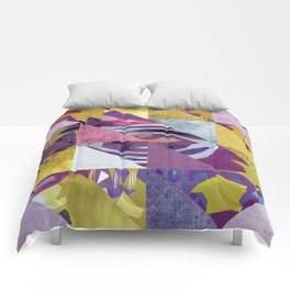 u2's zooropa triangles Comforters