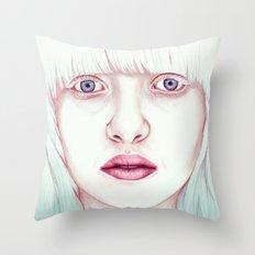 GIRL Throw Pillow