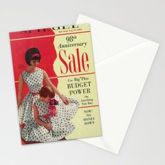 1963 - 98th Anniversary Sale -  Summer Catalog Cover Stationery Cards