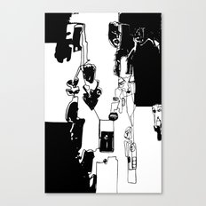 conflicted collection Canvas Print