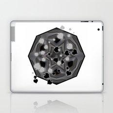 Ace of spades and star mandala Laptop & iPad Skin