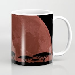 Elephant Moon Coffee Mug