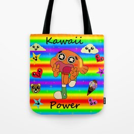 Darwin Kawaii Power! Tote Bag