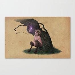 Satyr in Love Canvas Print