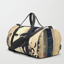 Street Art Pasolini in Rome Duffle Bag