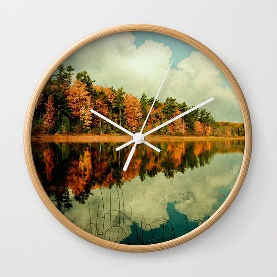 Birth of a Cloud Wall Clock