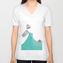 District Cocktails Unisex V-Neck