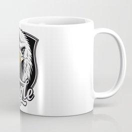 Eagle Powerful Face look Coffee Mug