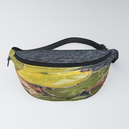 Lily pads in water Fanny Pack