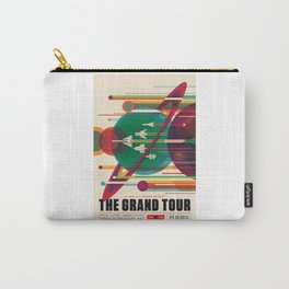 Grand Tour - NASA Space Travel Poster Carry-All Pouch