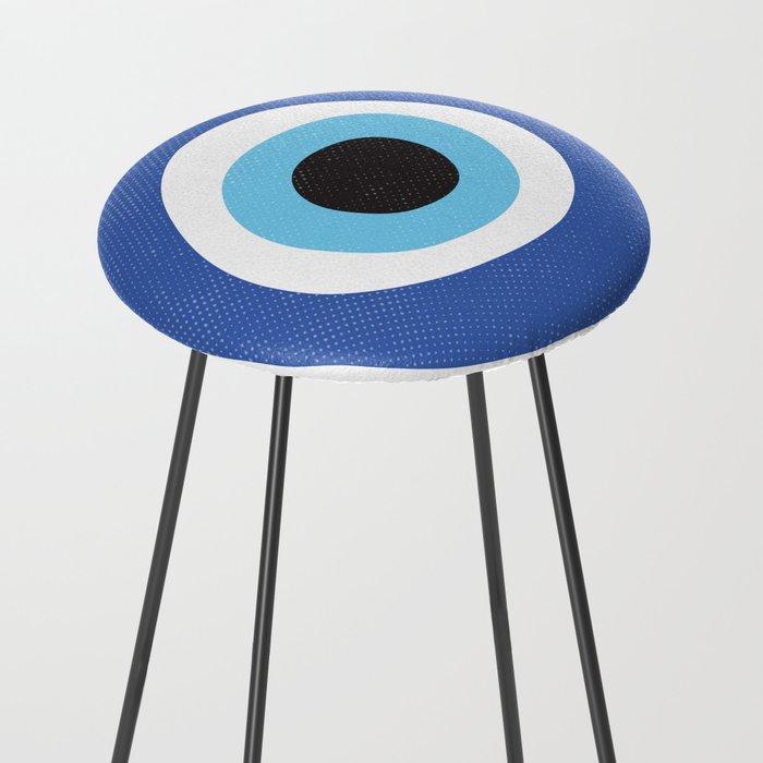 Evi Eye Symbol Counter Stool