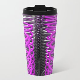 Plastic and metal springs and coils Travel Mug